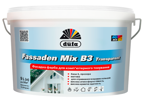 Fassaden Mix B3 Transparent